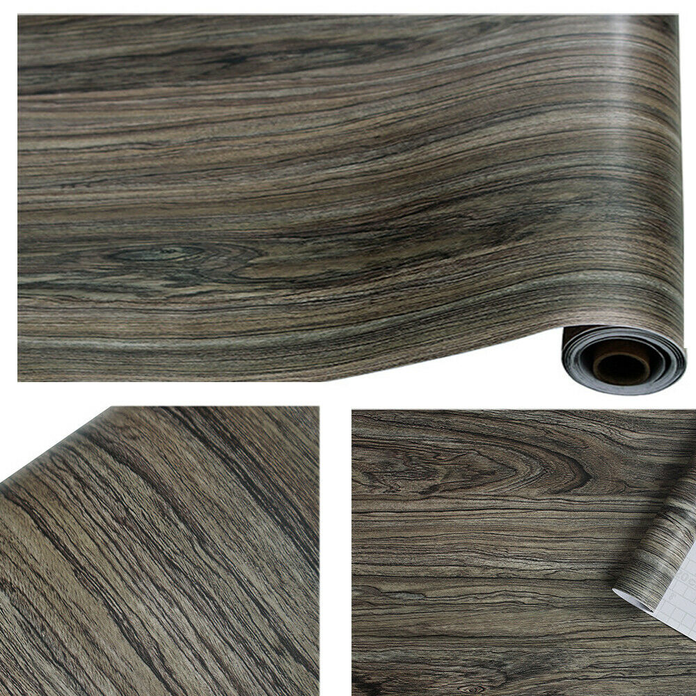 Wood Grain Wallpaper Self Adhesive