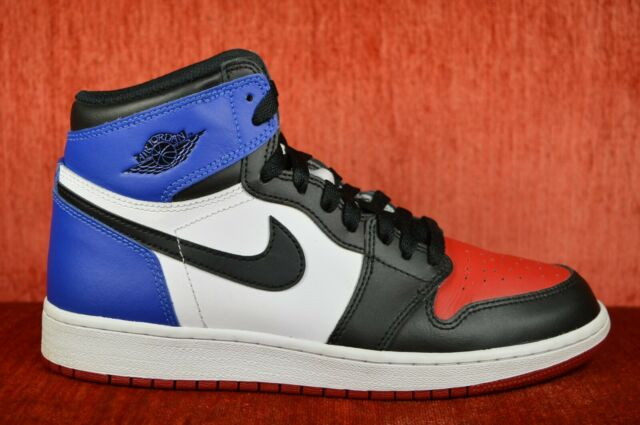 the latest 42031 33dc2 Nike Air Jordan Retro 1 High OG BG Top 3 Size 7 GS 575441 026