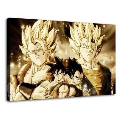 "12/""x20/""Goku and Vegeta Poster HD Canvas Prints Paintings Home Decor Wall art"