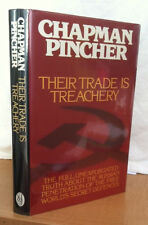THEIR TRADE IS TREACHERY by Chapman Pincher (1981, Hardcover)