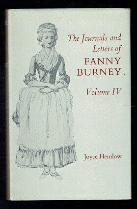 The Letters and Journals of Fanny Burney. Volume IV Oxford. 1973 VG