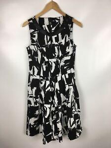7ed1052e3dfc4e Das Bild wird geladen B-C-BEST-CONNECTION-Damen-Kleid-schwarz-weiss-Groesse-