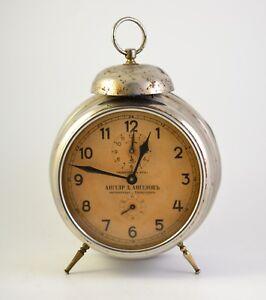 Antique GUSTAV BEKER 1920s Alarm clock Germany Vintage old ...