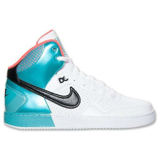 Nike Sons of Force Mid - White/Black Atomic Red Sport Turquoise, Comfortable