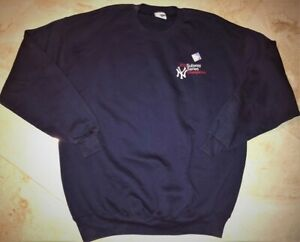 New-York-Yankees-Crew-Neck-Subway-Series-Champs-Sweatshirt-XL-Embroidered-MLB