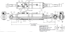 Hydroswing Hydraulic Door Cylinder Sb5942 118 1245