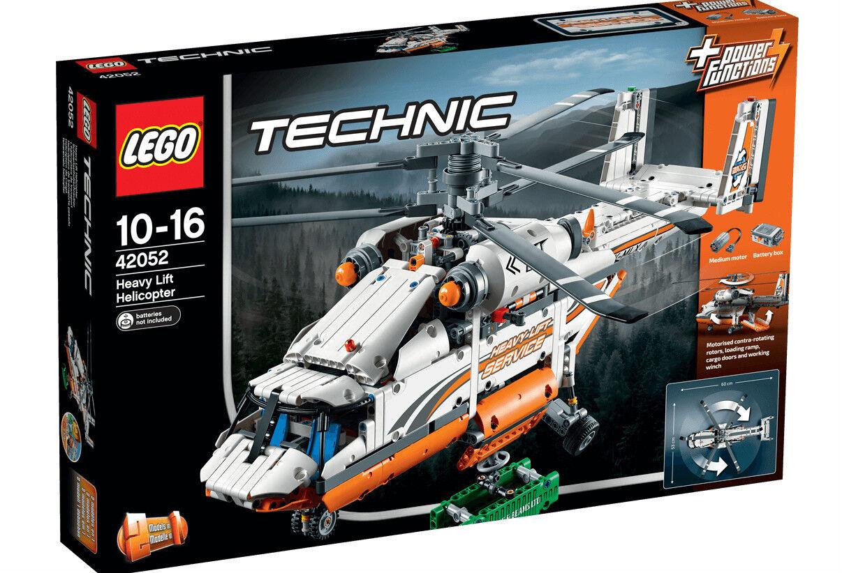 LEGO 42052 Elicottero da carico TECHNIC 10-16 Pz1041