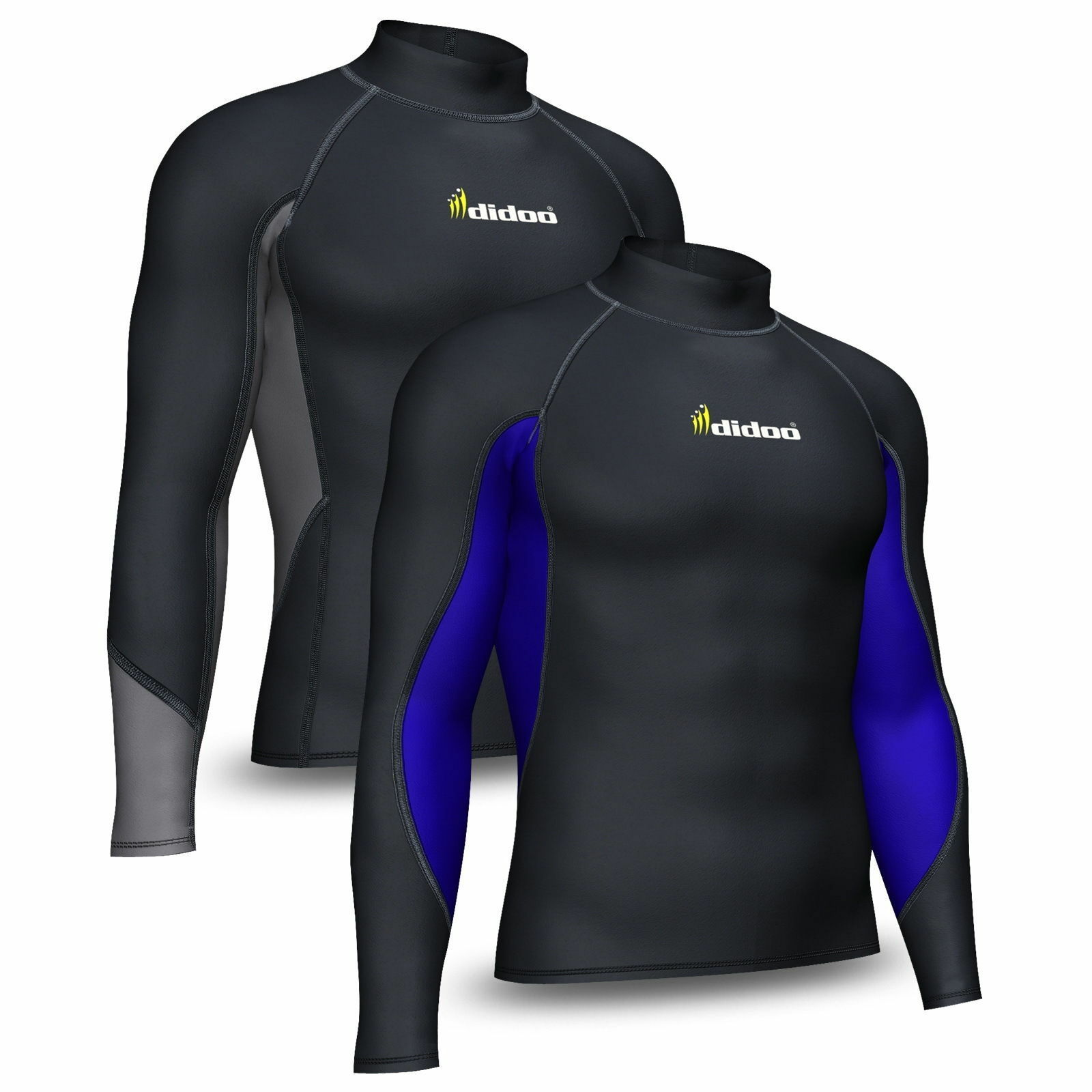 mens thermal base layer compression top sleeve