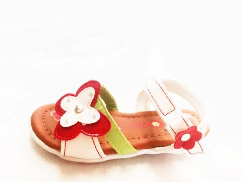 Girls Infant Toddler Butterfly Grip Synthetic Cute Dress Sandal Happy-16