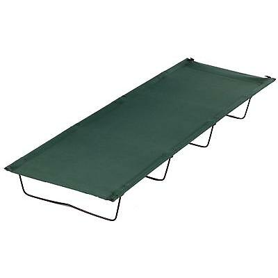 Halfords Basic 4 Leg Outdoor Camp Hiking Travel Camping Bed 180cm x 60cm x 18cm