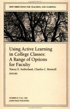 Using Active Learning in College Classes : A Range of Options for Facu-ExLibrary