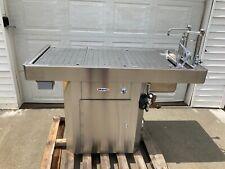 Mopec Moc 9000 Autopsy Stationary Pedestal Pediatric Necropsy Table Veterinary