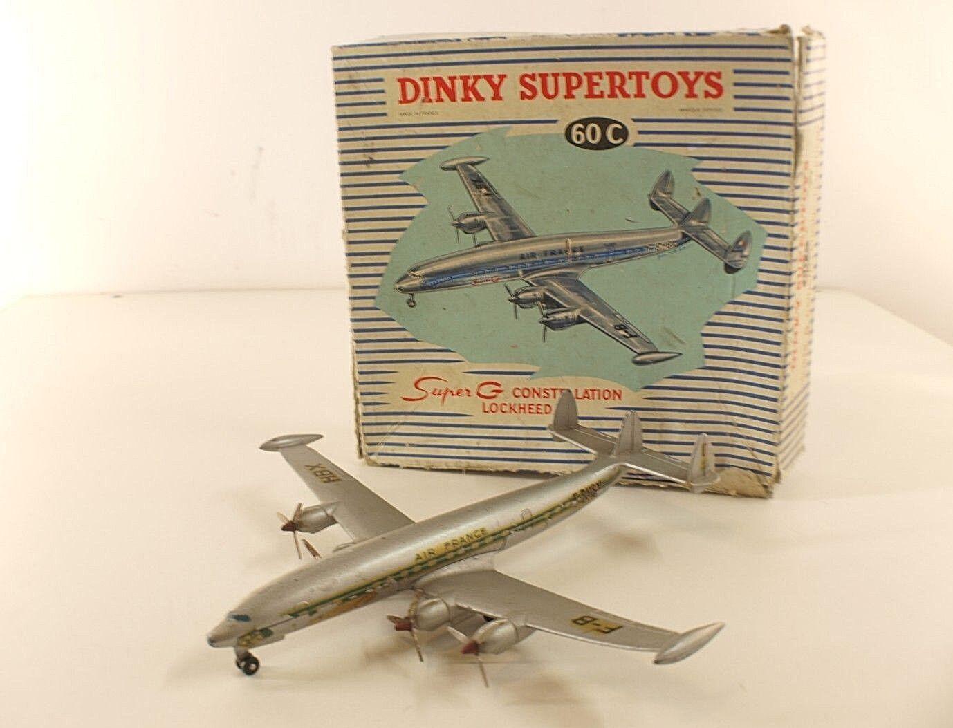 Dinky Spielzeugs F 60C avion super G Constellation Lockheed  Air France en boite