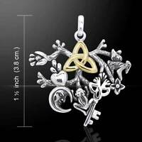 Cimaruta Witch Charm Sterling Silver Pendant By Peter Stone Choice Of Chain