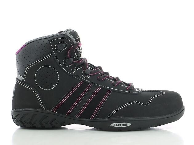 Safety Jogger Lady Line S3 SRC Safety démarrage chaussures, METAL FREE, Ref 820600 ISIS