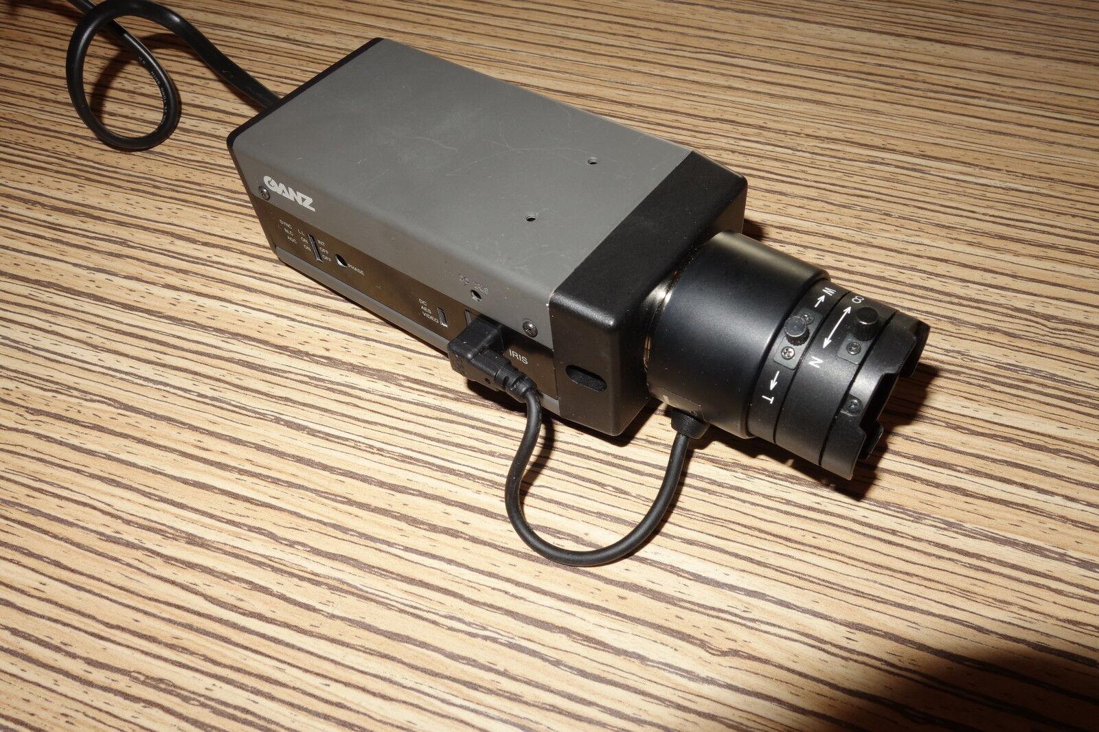 Linse für Ganz FCH-30C Industrie S W-Überwachungskamera HR nur Objektiv   230 v
