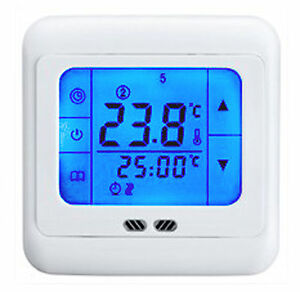 5-2-6-1-7-Week-Program-Under-tile-Underfloor-Heating-Thermostat-LCD-Touch-Screen