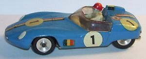 Rare Solido Db Panhard Hbr4 Le Mans 1959 N ° 1 Réf 112 B Made In France 1961 1/43