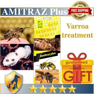 10 strips VAROSTOP TREATMENT FOR VARROA BEE