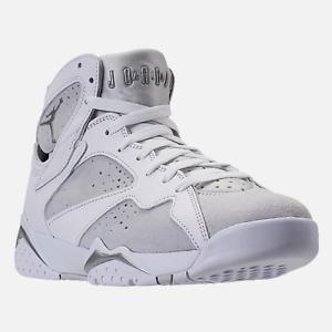 Exclusive New Men's Nike Mens Air Jordan Retro 7s.   Pure Platinum