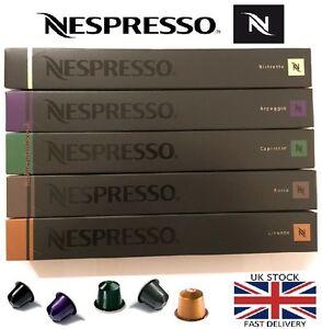 50 nespresso original coffee machine capsules pods variety. Black Bedroom Furniture Sets. Home Design Ideas