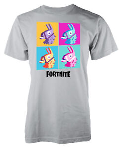 La imagen se está cargando Juegos-llama-batalla-real-Collage-Ninos-Camiseta dc8224ee1f4f7