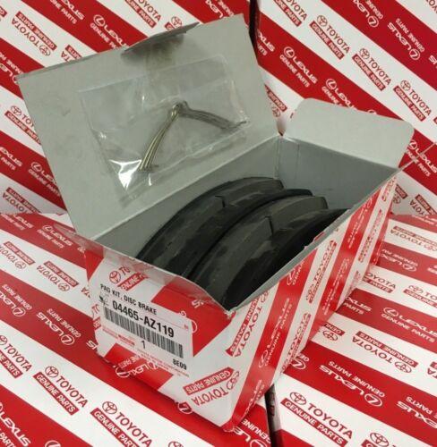 2011-2020 TOYOTA SIENNA FRONT CERAMIC BRAKE PADS GENUINE OEM 04465-AZ119