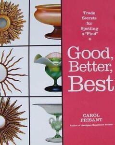 BOOK-LIVRE-BOEK-BUCH-GOOD-BETTER-BEST-gt-ANTIQUES-ANTIQUITES-ANTIEK-BROCANTE