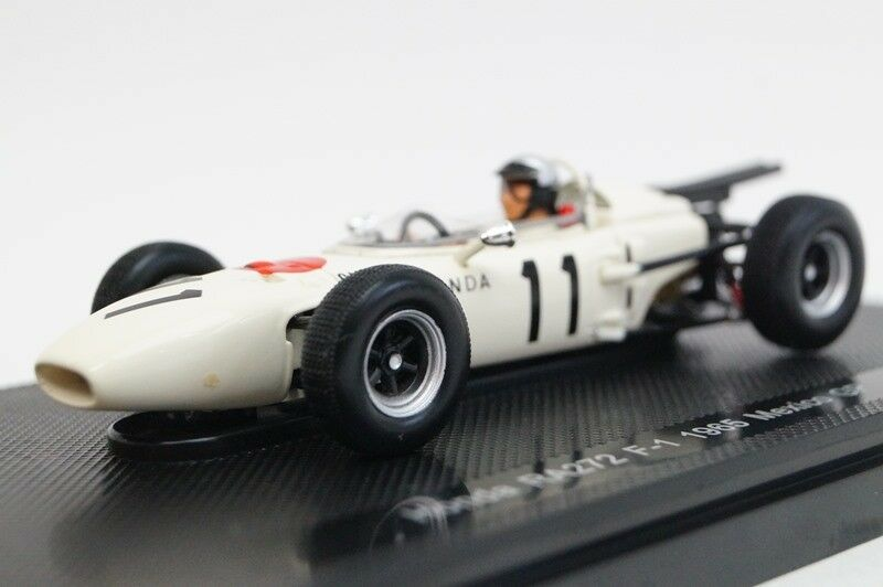 EBBRO 44260 1:43 Honda  RA272 1965 Mexico GP  11 resin model bianca