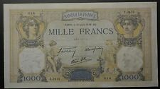 GB612 - Banknote Frankreich 1000 Francs 1938 (30 Juin) Pick#90c RAR France