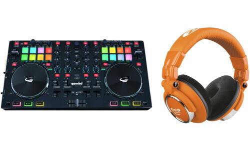NEU /& OVP DJ Midi Controller USB Workstation 4 Kanal Serato Gemini Slate 4