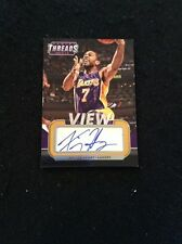 Xavier Henry 2014-15 Panini Threads View Autograph #12 Los Angeles Lakers