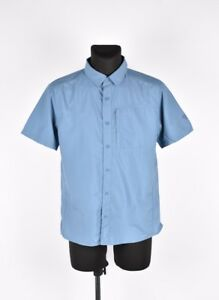 Mountain-Hard-Wear-manches-courtes-Hommes-chemise-taille-M-authentique