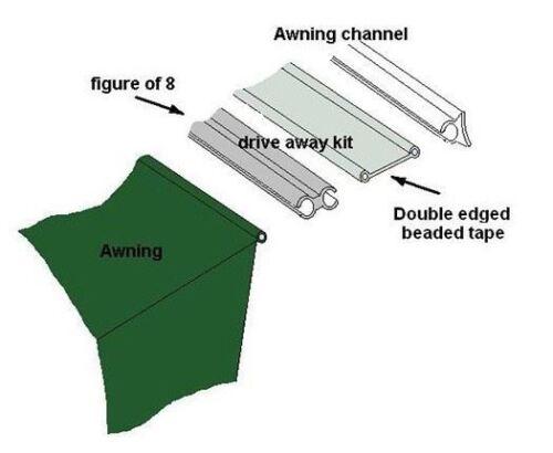 Outdoor Revolution Standard Driveaway Kit For Campervan & Motorhomes OR530