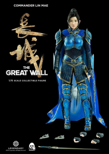 Threezero 3Z0048 The Great Wall Lin Mae Female Action Figure 1//6TH Collection