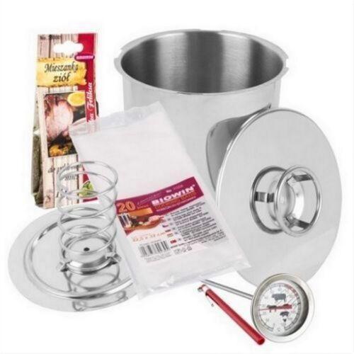 Schinkenkocher SET Kochtopf Kochschinkenform für 1,5kg und 3kg GRATIS Salz