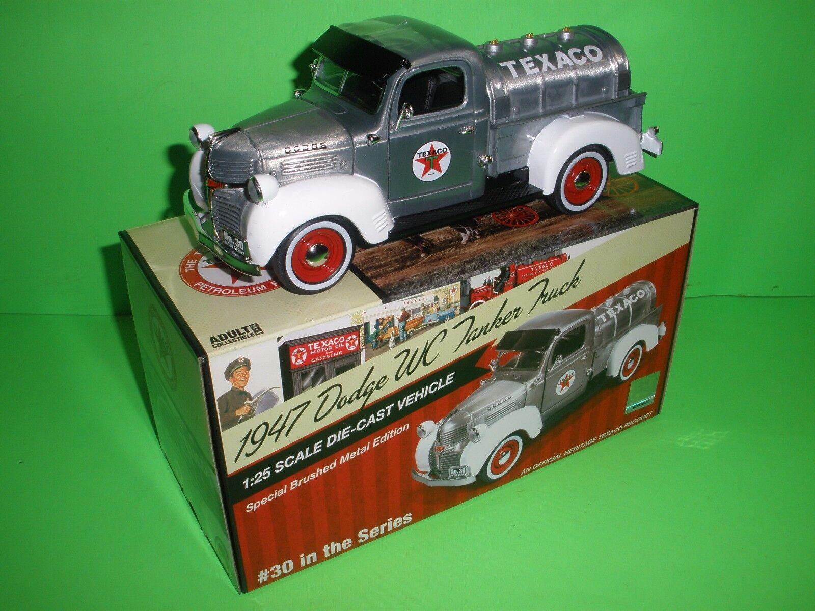 Texaco en la serie 1947 DODGE WC cisterna camión de reparto que Edición Especial - 2013