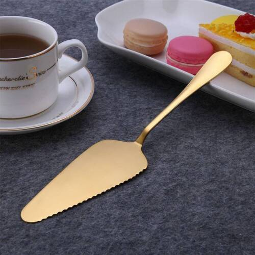 Stainless Steel Cake Shovel Pie Pizza Cheese Server Divider cutter Tool Baking
