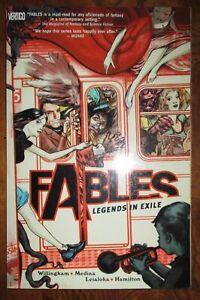 Fables-Legends-in-Exile-Volume-1-Vertigo-DC-Bill-Willingham-TPB-James-Jean-GN