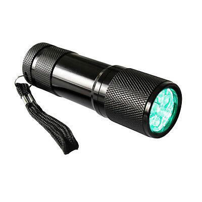 VIVOSUN Mini Green Light LED Flashlight 9 LED Bulbs for Plant Growth Hydroponics