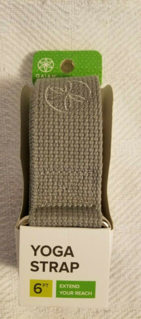 Gaiam 6 Ft X 1 5 Inches Yoga Strap Storm New For Sale Online