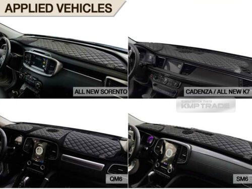 Luxury VIP Leather Dashboard Sun Cover Pad 2color for HYUNDAI 2016-18 Tucson TL