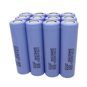 1-2-4-6X-High-Drain-18650-ICR-3000mAh-3-7V-Li-ion-Batterie-Rechargeable-Battery