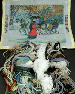 Alan Maleys Winter Impressions Needlepoint Kit