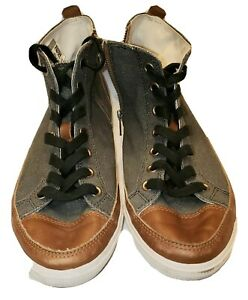 Sneaker ( Size 10) Charcoal Gray/Brown