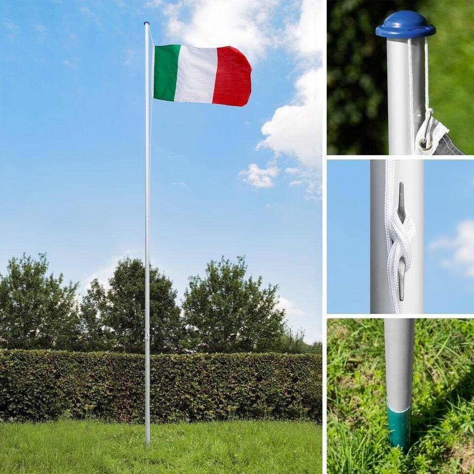 Aluminium flagstang Italien