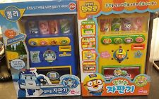 2Pororo Talking Vending Machine Toy / Korean character baby kids Gift Role play