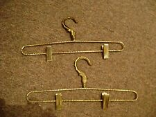 vintage, victorian hangers for clothes and pants METAL  FREE SHIPPING VERY RARE