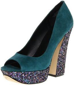 2ecbf88bd5b Image is loading Boutique-9-Alesandra-Women-039-s-Glitter-Peep-