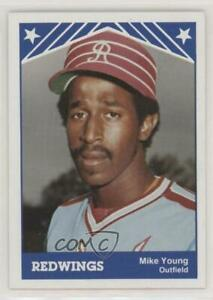 1983 TCMA Rochester Red Wings Mike Young #22